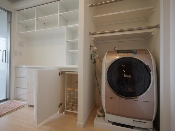 M様邸 2020 洗面室 オーダー家具